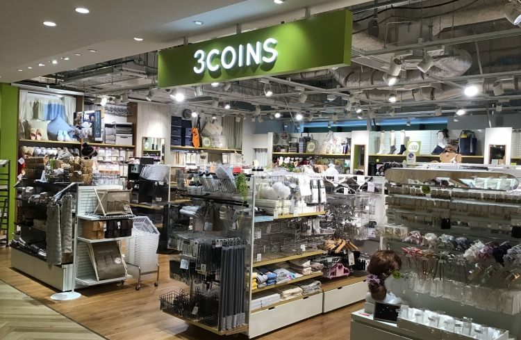 3COINS ミーナ天神店